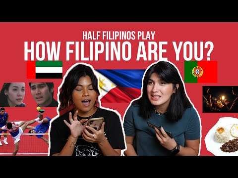 HOW FILIPINO ARE YOU? QUIZ | HALF FILIPINOS FIND OUT