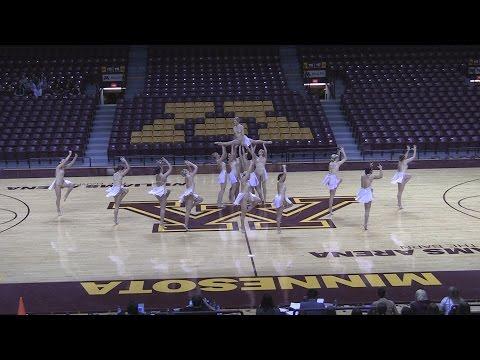 University of Minnesota Dance Team Jazz 2016