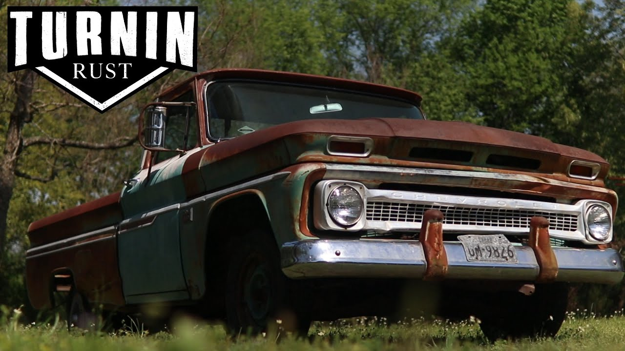 Flipping a $1200 Big Back Window C10 Into Cash | Untouched 1966 Fleetside  Chevy C10 Truck