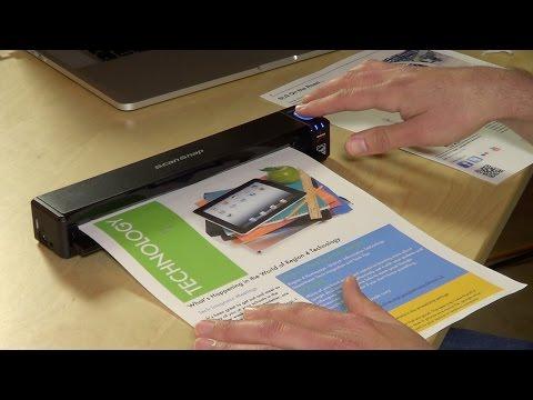 Fujitsu ScanSnap ix100 Mobile Portable Scanner Review