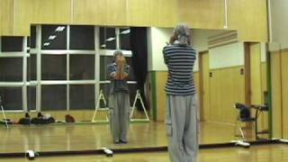ヒップホップダンス レッスン  初心者 基本 HIPHOP dance lesson