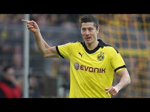 1:0 Robert Lewandowski: Borussia Dortmund - Greuther Fürth (3:1) Bundesliga 12. Spieltag BVB