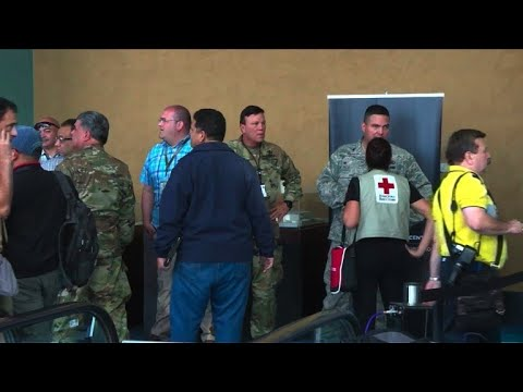 AFP news agency: Puerto Rico centralizes emergency response at convention center
