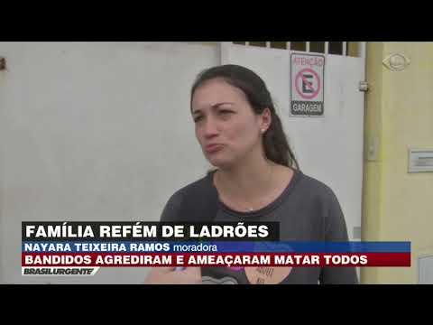 Família é Torturada Durante Assalto Em São Paulo
