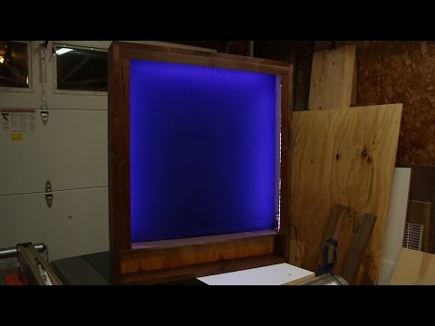 Episode 2 - Dart Board Cabinet: Part 3: A Little Light and Polish