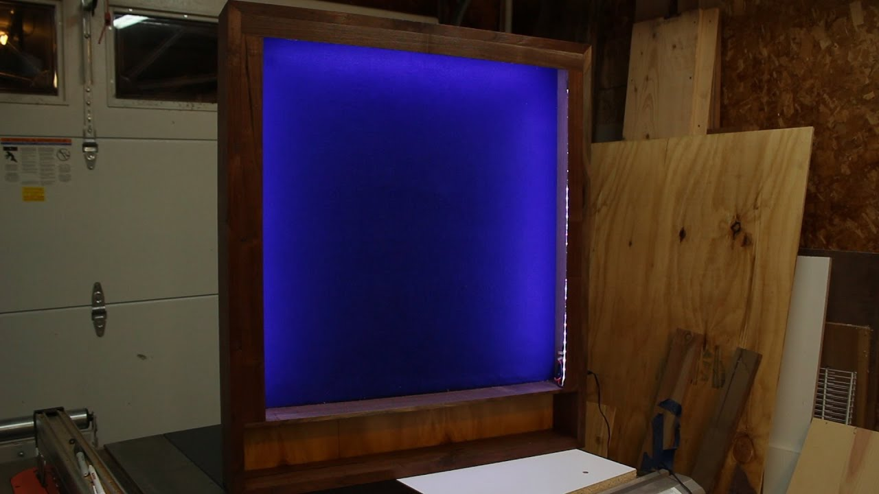 Episode 2   Dart Board Cabinet: Part 3: A Little Light And Polish   YouTube