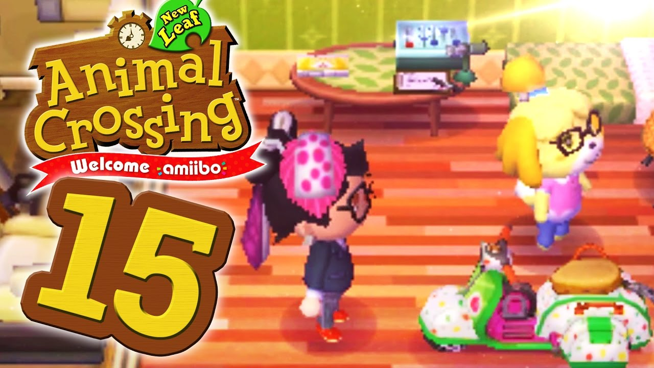 Neue Haare 15 Lets Play Animal Crossing New Leaf Youtube