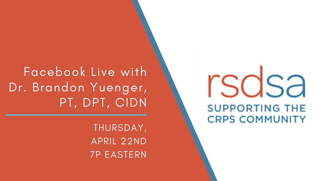 A Talk With RSDSA About Complex Regional Pain Syndrome and Navigating our Healthcare System