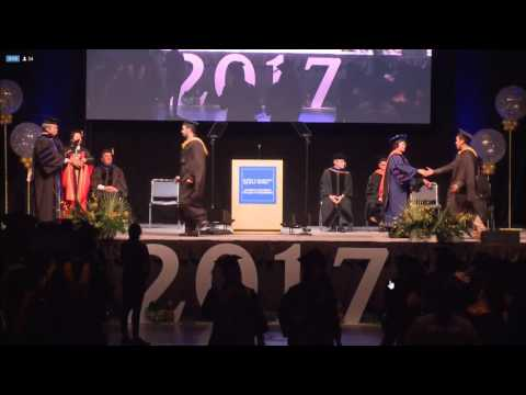 Graduation Ceremony in San Jose State University 2017