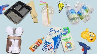 5 Items You're Throwing Away That You Should Be Reusing! How To Reuse Waste Materials