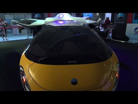 AeroMobil's flying car unveiled at Paris Air Show