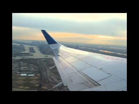 Full Flight: Continental Airlines Boeing 737-524 Flight 1433 - New York LaGuardia to Houston