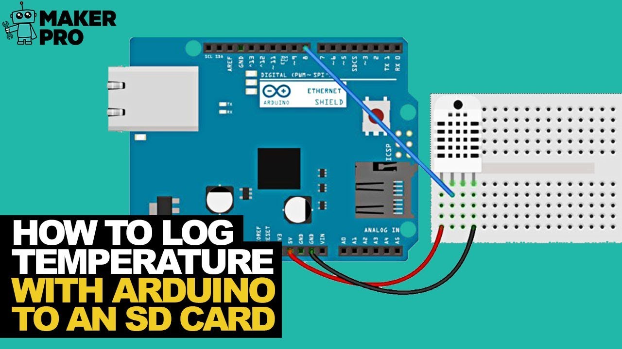 Log Temperature, Humidity, and Heat Data with Arduino to an SD Card