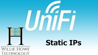 UniFi Static IP Addresses