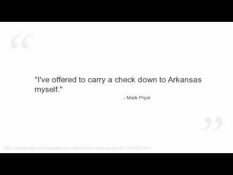 Mark Pryor Quotes