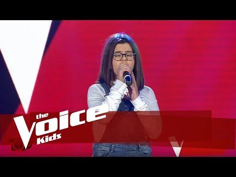 Denisa - Radioactive   Audicionet E Fshehura   The Voice Kids Albania 2019