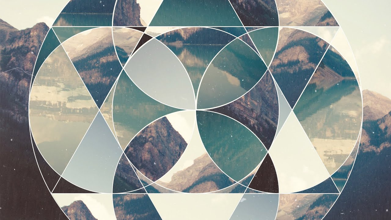 How To Make a Geometric Collage using Adobe Illustrator & Adobe ...
