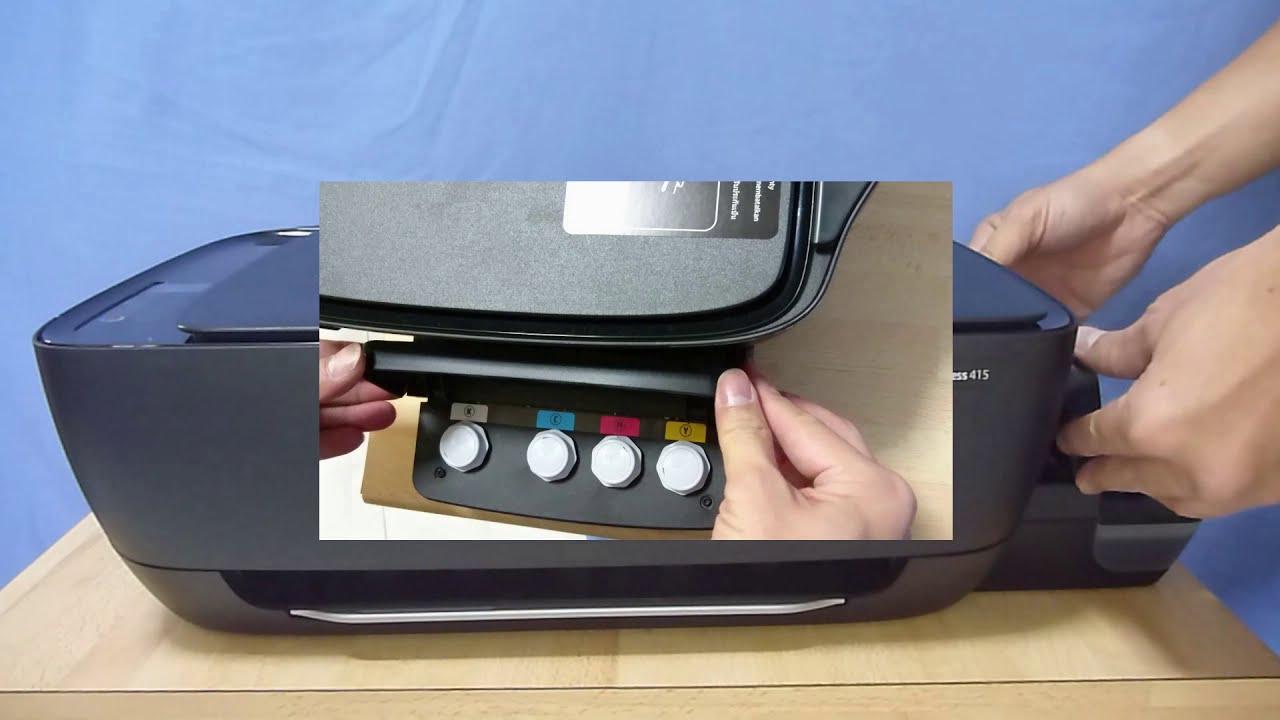 Hp Ink Tank Wireless 410 | 415 | 418 | 419 : E4 Errors Removing Paper Jams  Errors  Technology Tips 07:02 HD