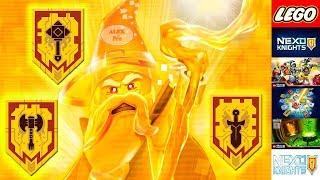 LEGO NEXO KNIGHTS НОВЫЕ ЩИТЫ ДЛЯ СКАНИРОВАНИЯ НОВЫЕ НЕКСО СИЛЫ МЕРЛОКА + КОМБОСИЛЫ