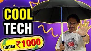 Cool Tech Under Rs. 1000 - 2018 New Budget Gadg...