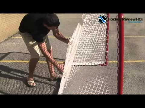 EZ Goal Hockey Net Review from HockeyShot com
