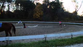 1 - KATELYN'S RIDING LESSONS - OCTOBER 21, 2013 - Ironstone Farm, Andover MA
