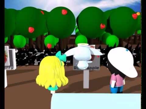 Cartoon 3D Animation สื่อการสอนภาษาอังกฤษ  (The English Adventure)
