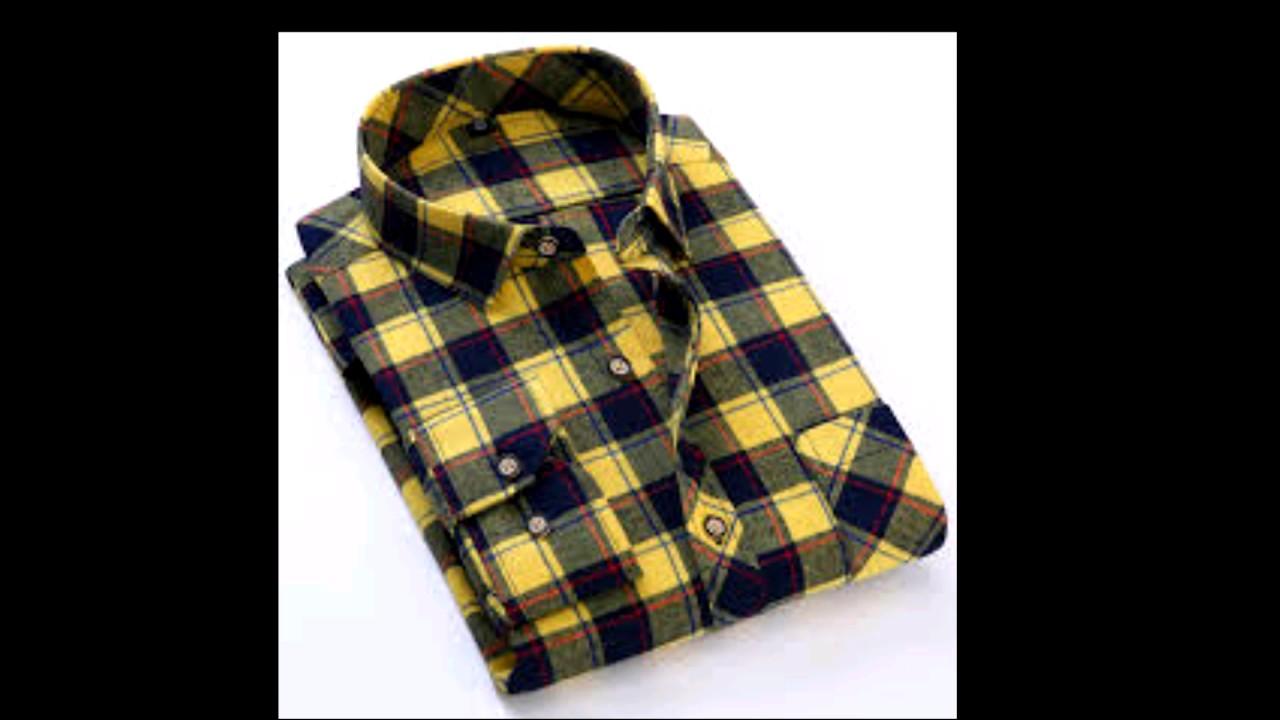 Shirt design latest 2017 - Top New Checkered Shirt Design 2017 For Mens