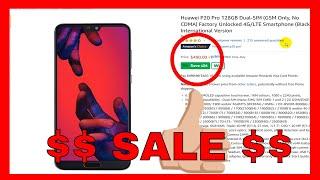 Huawei P20 Pro 128GB Dual-SIM (GSM) Factory Unlocked International Version $490.00 ONLY ON AMAZON!