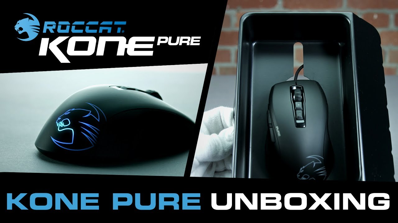 8b1ee8d4f9f ROCCAT | Kone Pure Owl-Eye [official 4K unboxing] - YouTube