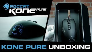 roccat Kone Pure Owl-Eye White UNBOXING