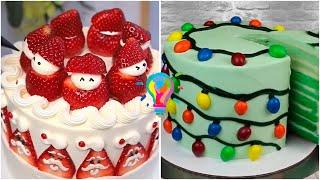 Украшение тортов и кексов на Новый Год и Рождество Новогодний торт Christmas Cake Decorating