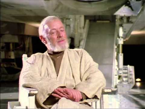 Alec Guiness talks Star Wars