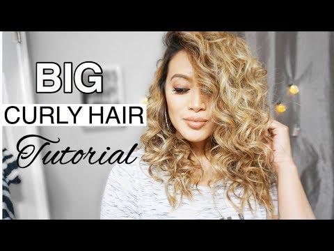 BIG CURLY HAIR || TORI KELLY INSPIRED