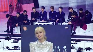 Download SEVENTEEN + BTS react to TWICE Melting + Feel Special @ GDA 2020