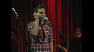 "Sam Tsui singing ""The Phone Call"" by Ewalt and Walker from Bromance"