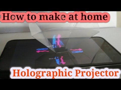 DIY HOLOGRAM PORJECTOR | HOW TO MAKE AT HOME | AAA crafts & creations