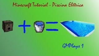 Tutorial Fail - Piscina Elétrica - Minecraft