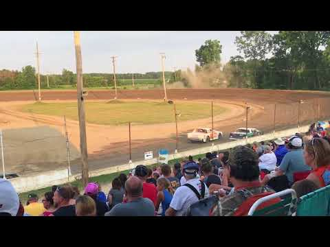 Crystal Motor Speedway Street Stock Heat Races 7/3/2018