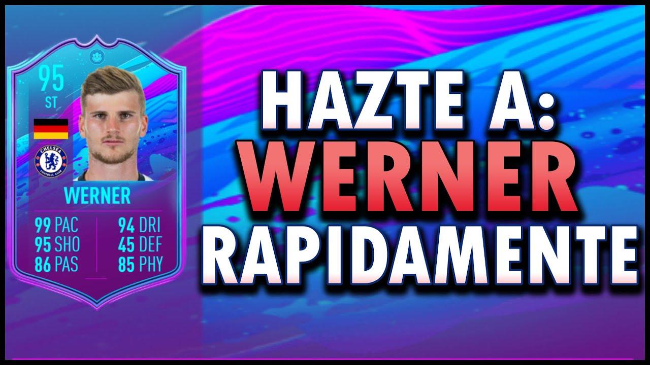 COMO CONSEGUIR A TIMO WERNER TRANSFER MUY FACIL RAPIDO EN FIFA 20   Werner Transfer SBC Premium Guia