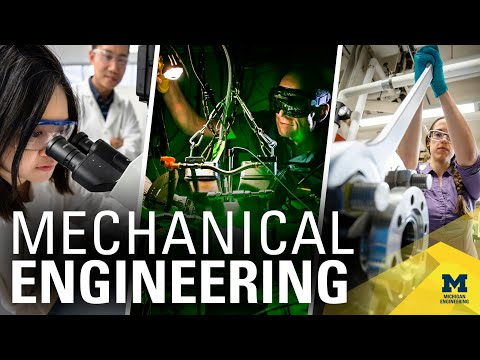 Mechanical Engineering at the University of Michigan