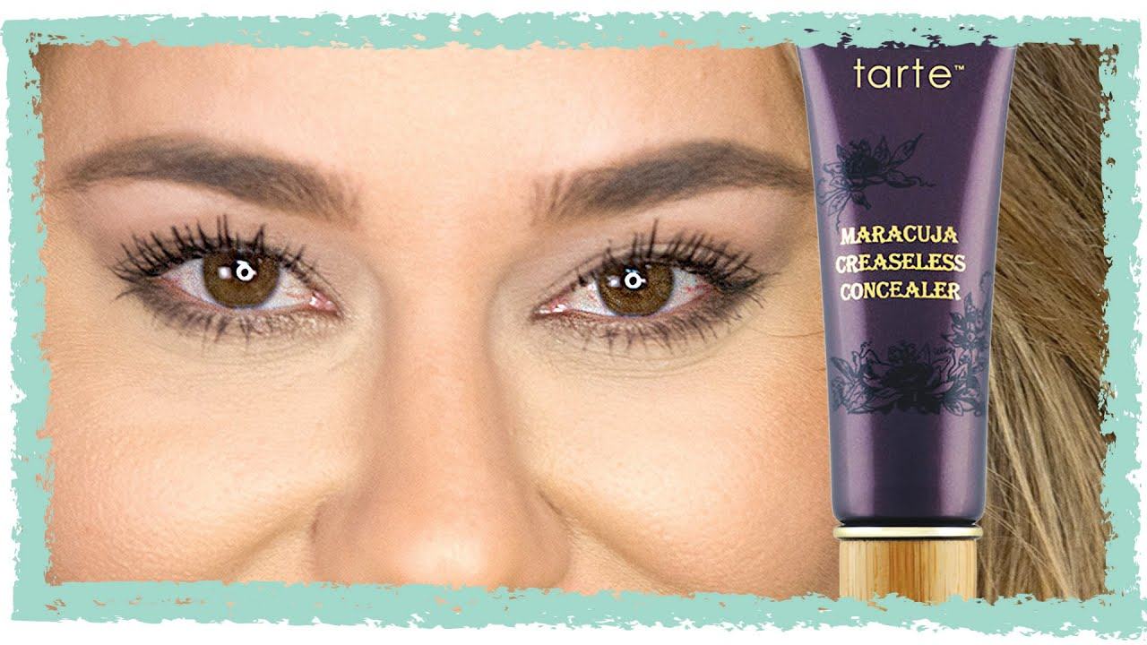 tarte maracuja creaseless concealer tarte creaseless concealer worth the hype or save your 11832