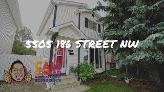 **SOLD** Edmonton Home For Sale | 5505 186 Street NW | Jamieson Place | Conrad Bitangcol REALTOR®