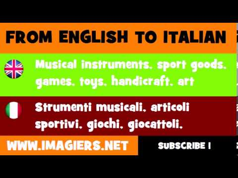 How to say Musical instruments, sport goods, games, toys, handicraft, art materials and accessories