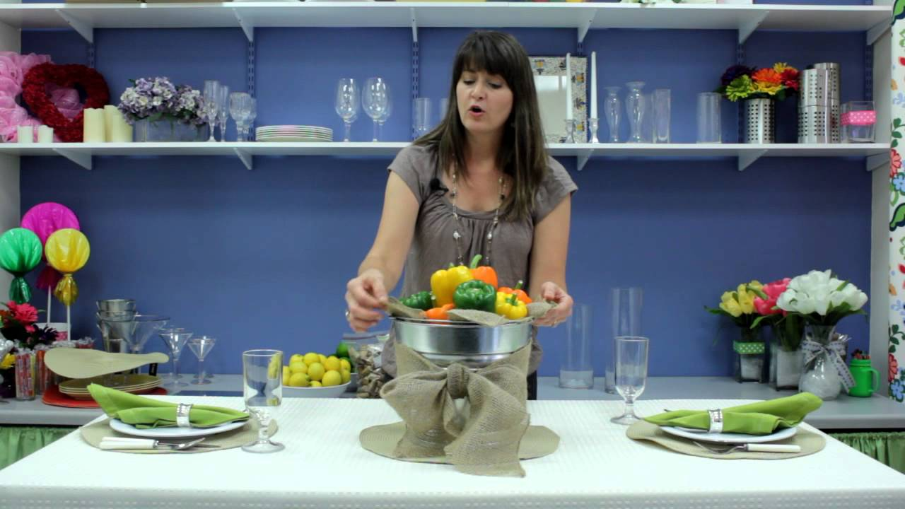 how to decorate tables cheaply table decorations youtube