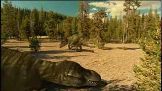 2 T-Rex vs Triceratops