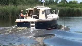 Mini Pilothouse HABER 660M - Displacement Boat