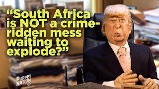 Debora Patta and Donald Trump interview gets heated.