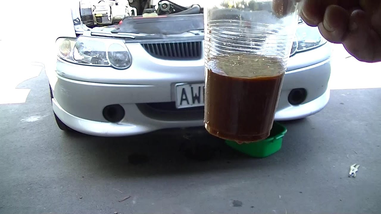 how to change coolant ve commodore