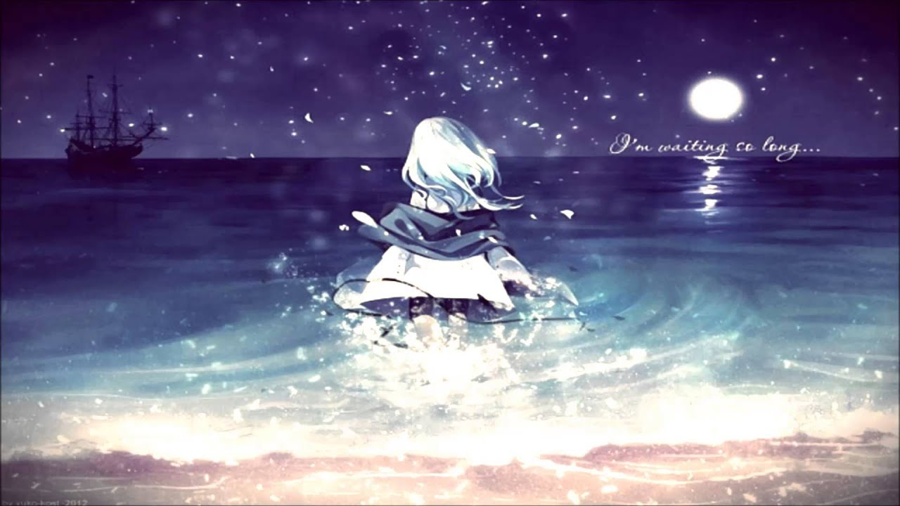 Anime Beach Girl Wallpaper 【nightcore】 I Ll Be Good Jaymes Young Youtube
